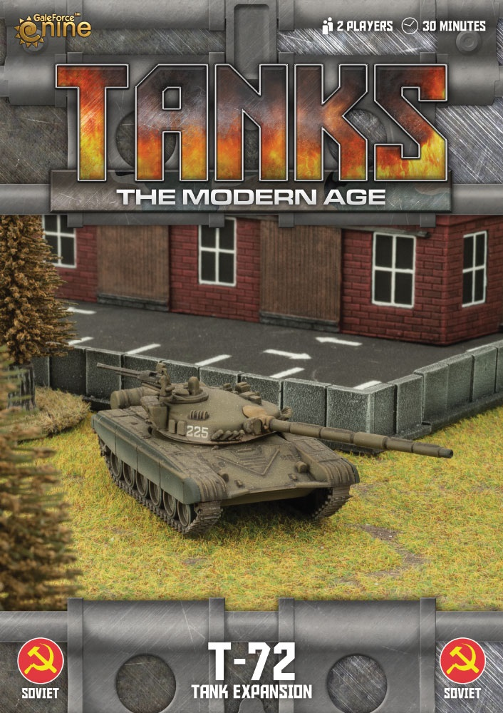 Soviet T-72 Tanks Expansion