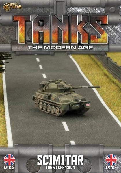 British Scorpion/Scimitar Tanks Expansion