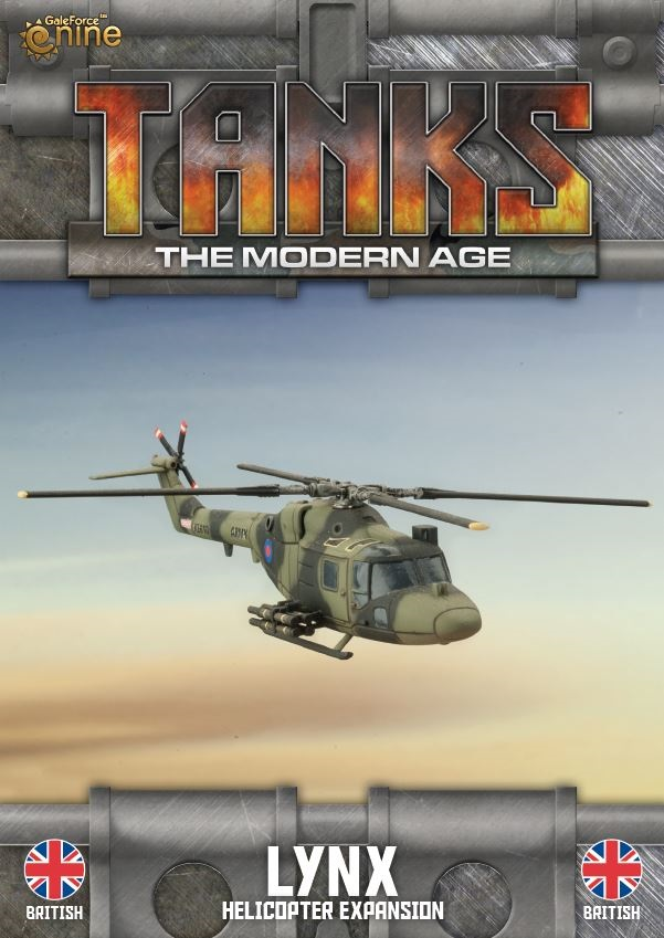 British Lynx (Helo) Tanks Expansion