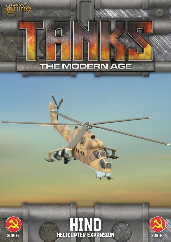 Soviet Mi-24 Hind (Helo) Tanks Expansion