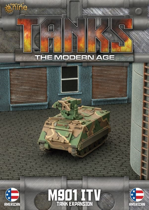 US M901 ITV/M163 VADS Tanks Expansion