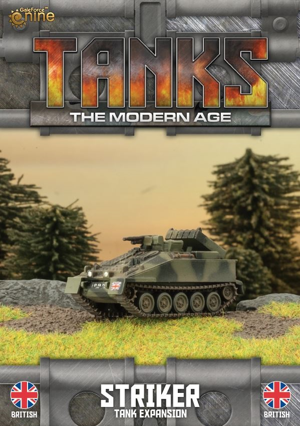 British Striker/Milan MCT Tanks Expansion