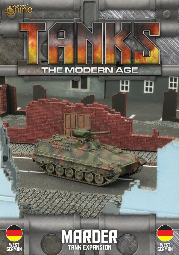 German Marder Tanks Expansion