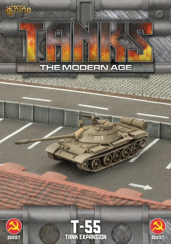 Soviet T-55/T-55AM2 Tanks Expansion