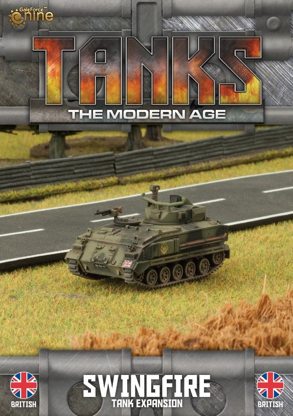 British Swingfire Tanks Expansion