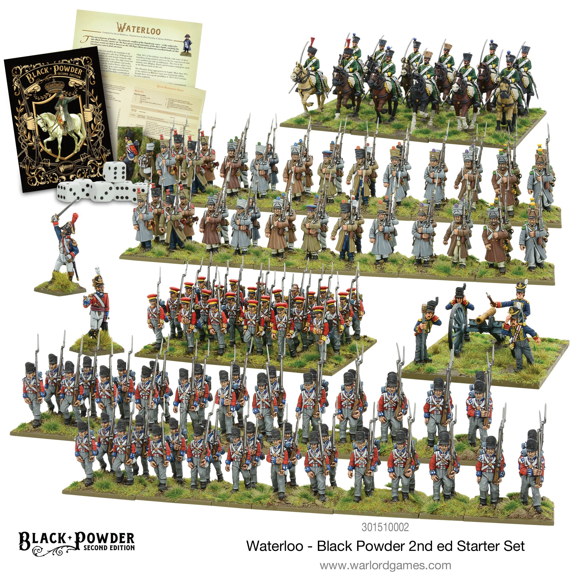 Waterloo - Black Powder Starter Set - 2nd Edition