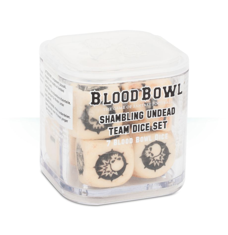 Blood Bowl: Undead Dice Set