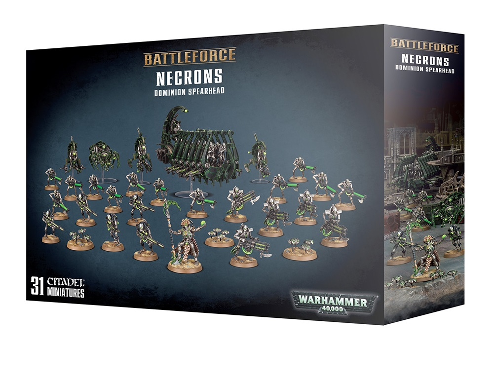 Battleforce: Necrons Dominion Spearhead
