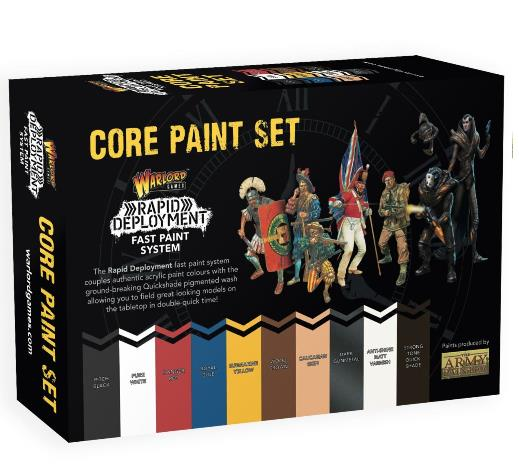 Warlord Core Paint Set