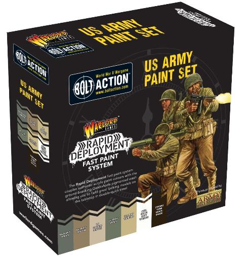Bolt Action US Army Paint Set