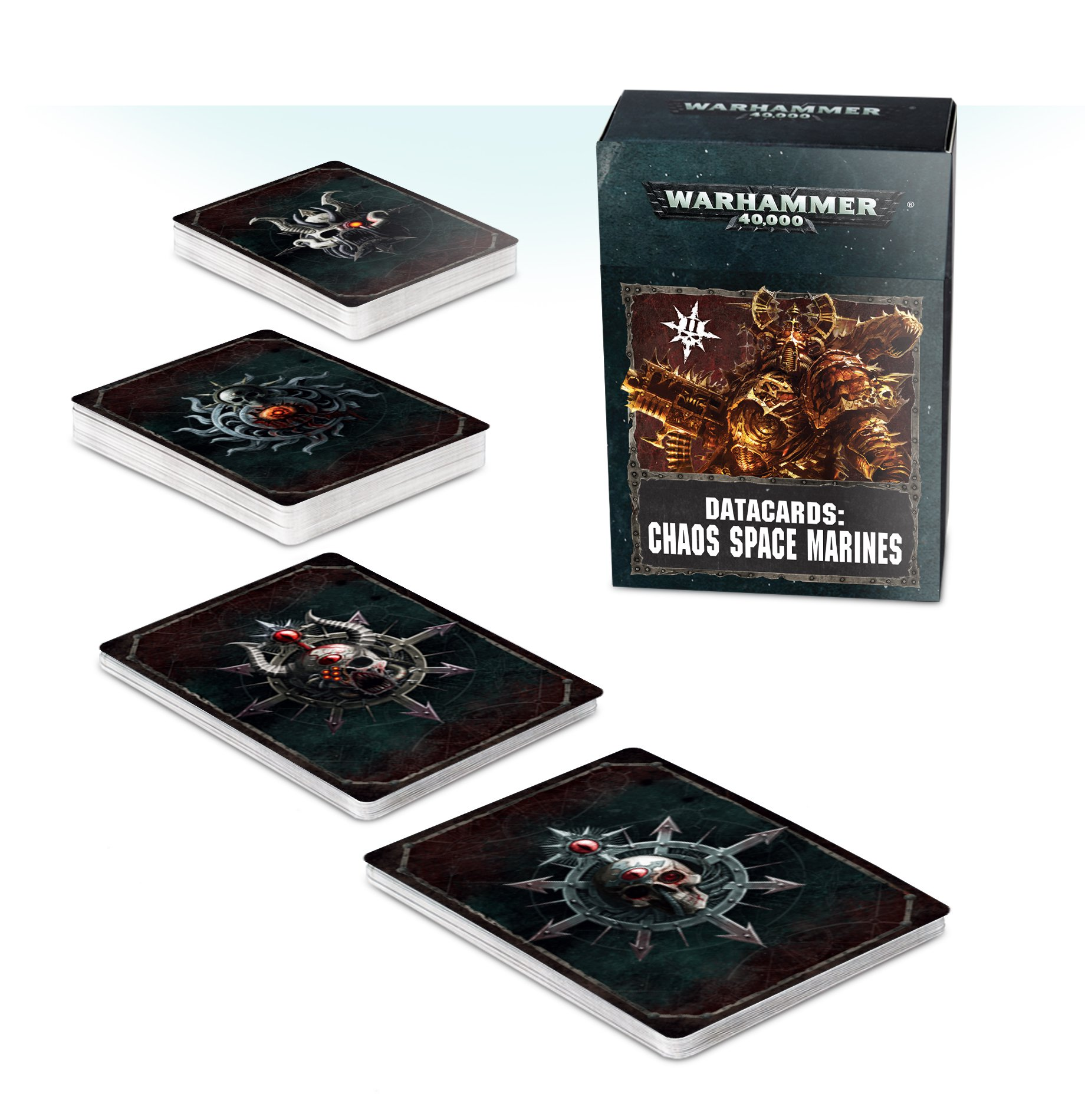 Datacards: Chaos Space Marines (2019)
