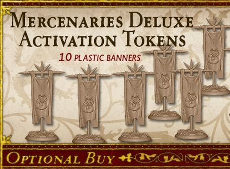 Mercenaries Deluxe Activation Tokens