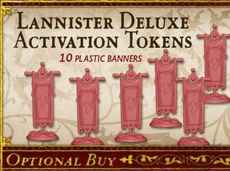 Lannister Deluxe Activation Tokens