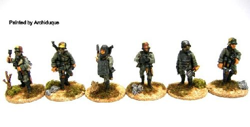 German Trench Raiders
