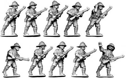 British Infantry (Tropical Dress)