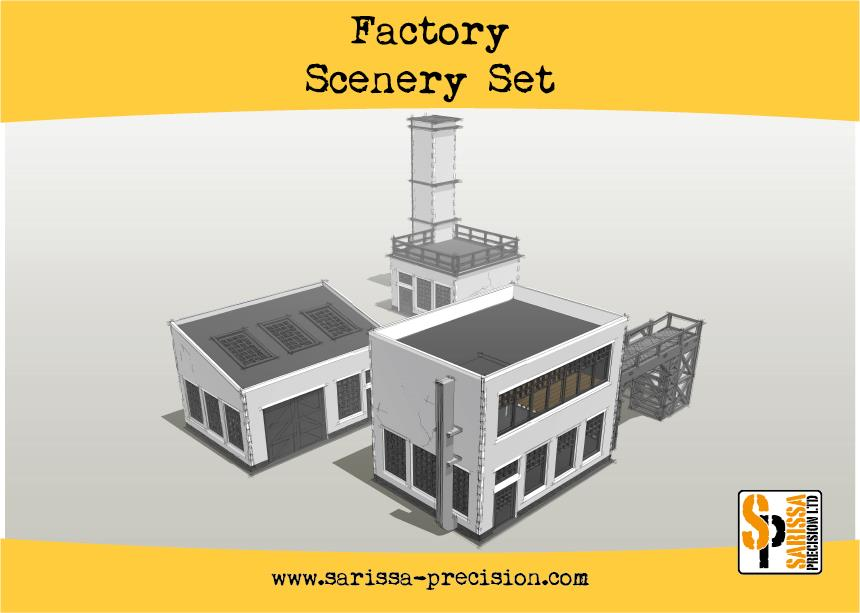 Factory Scenery Set - 25% Off Black Friday