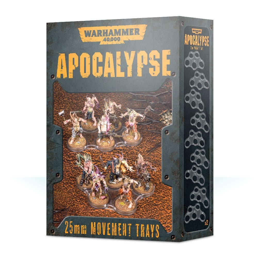Wh40k Apocalypse Movement Trays (25mm)