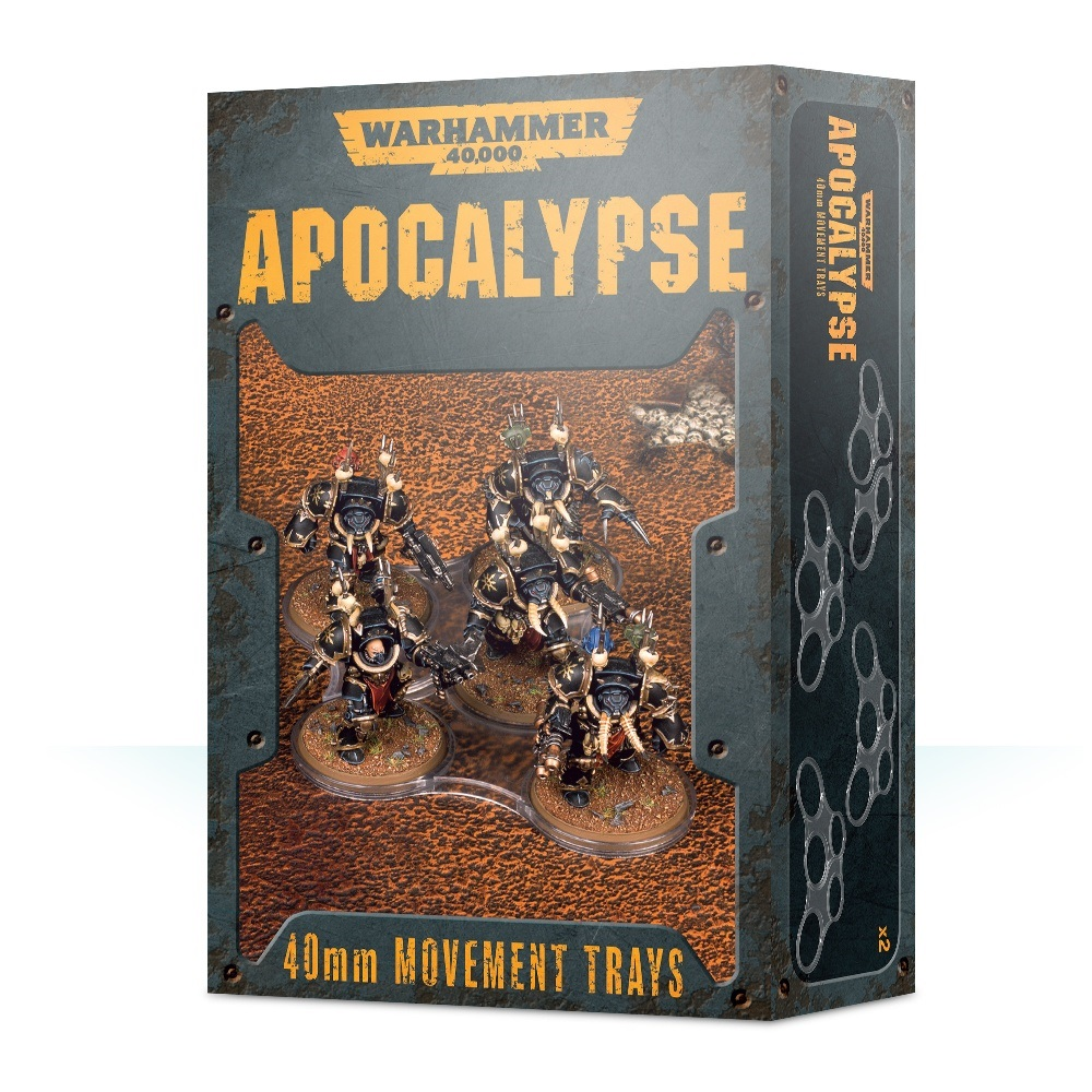 Wh40k Apocalypse Movement Trays (40mm)