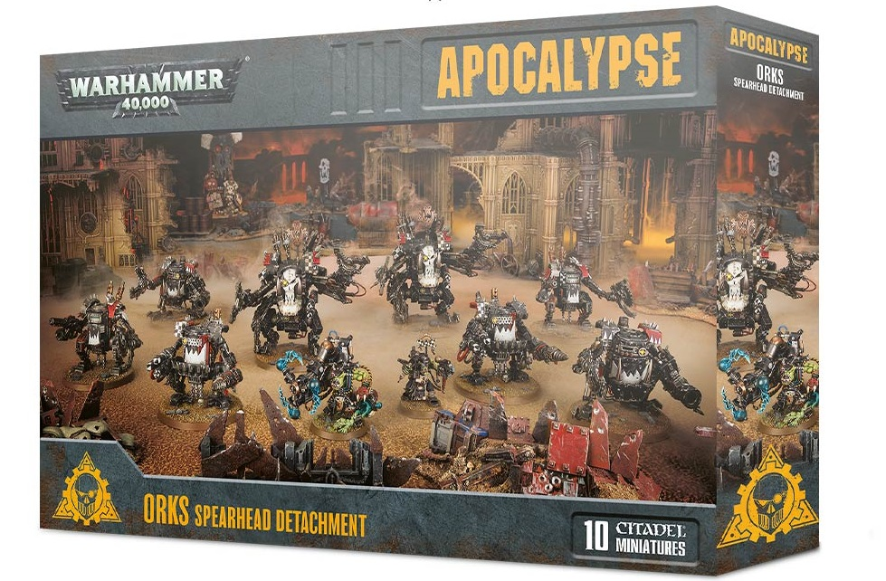 Orks Spearhead Detachment