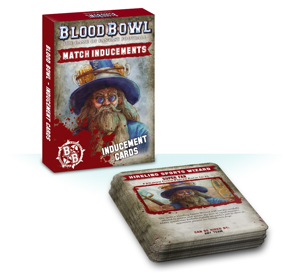 Blood Bowl Inducement Cards