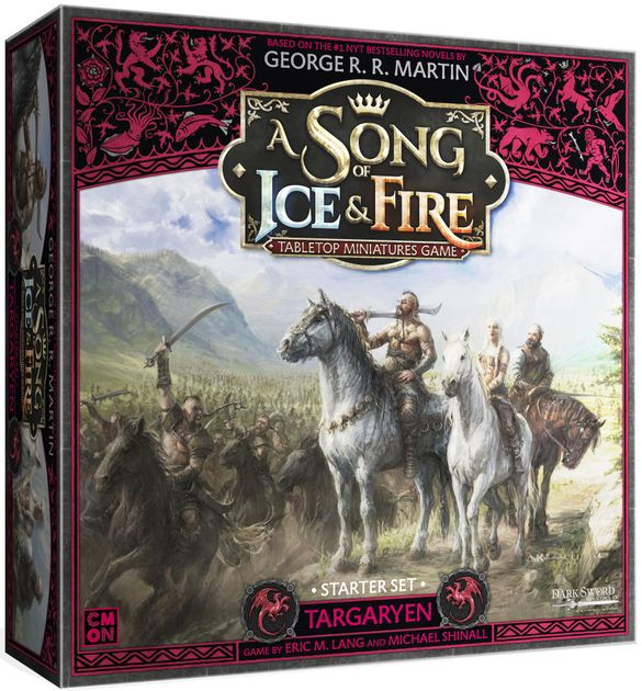 Targaryen Starter Set: A Song Of Ice and Fire Core Box