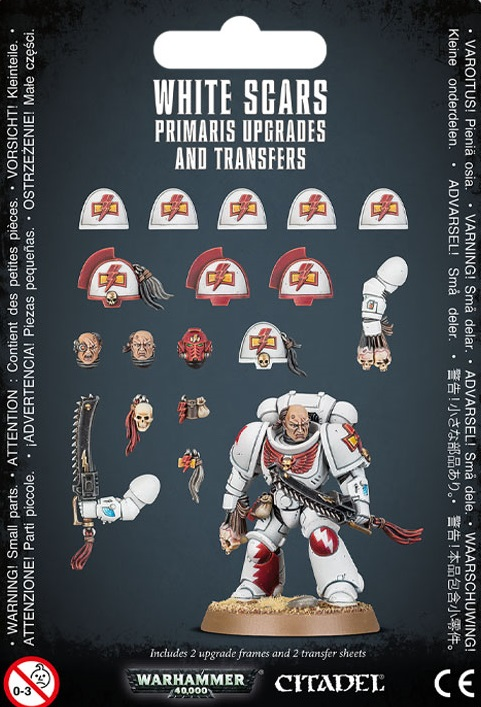White Scars Primaris Upgrades & Transfers