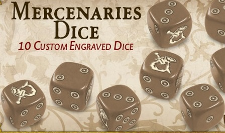 Mercenaries Dice