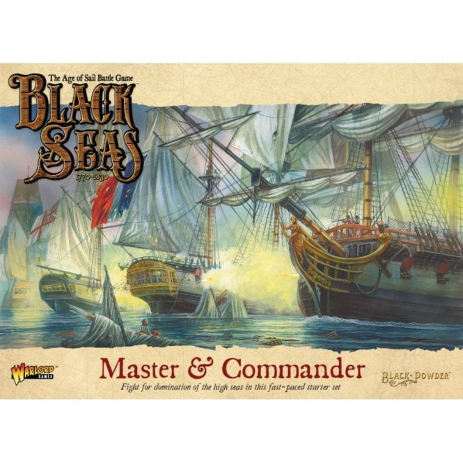 Master & Commander Black Seas Starter Set