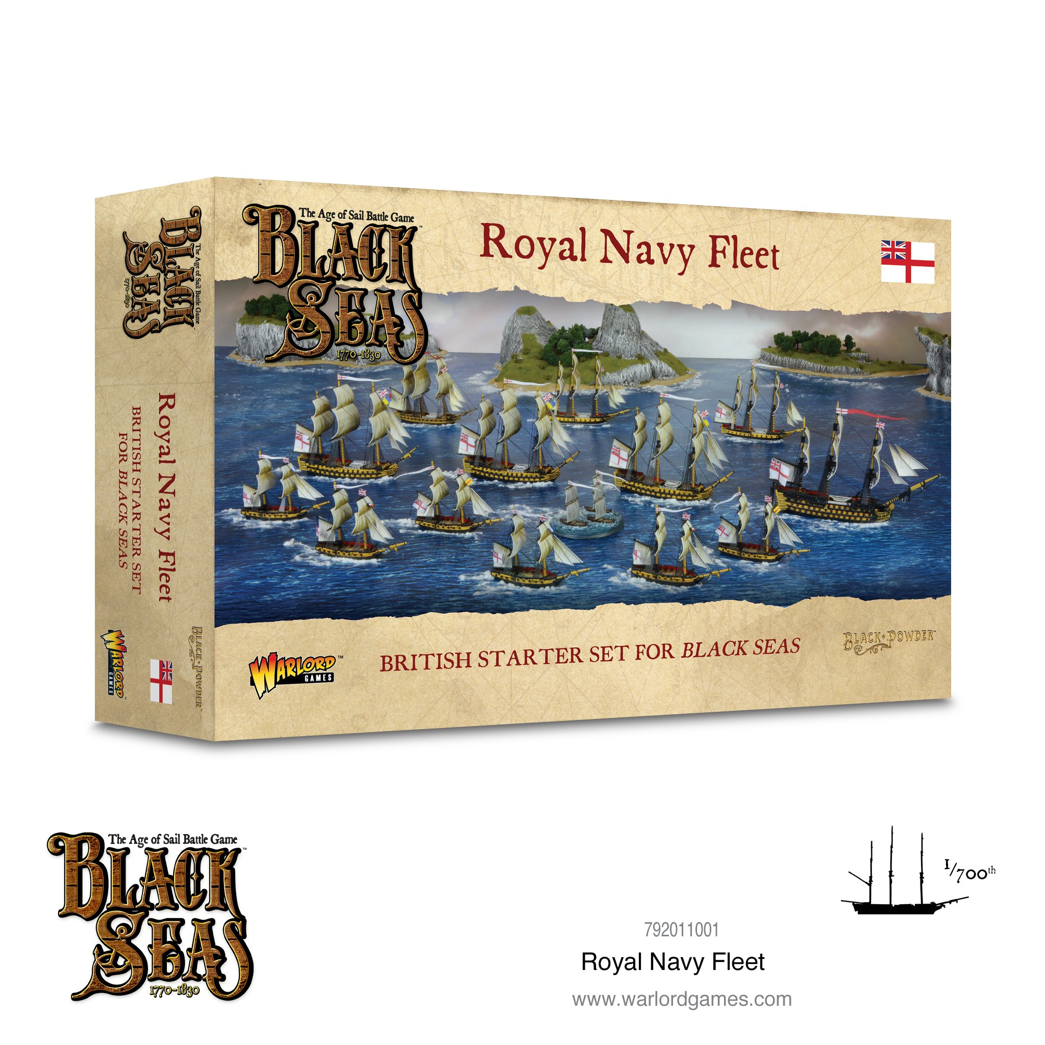 Royal Navy Fleet (1770 -1830)