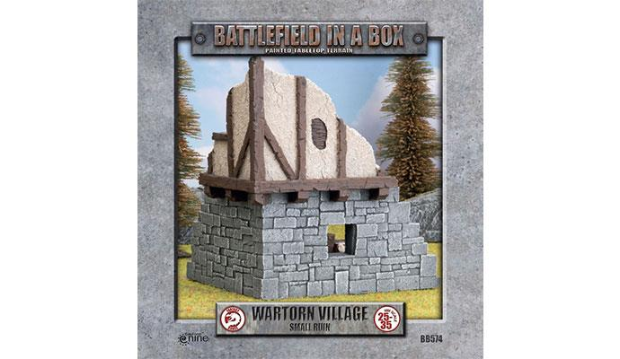 Wartorn Village Small Ruin (28mm)