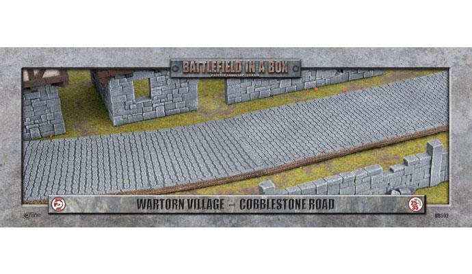 Wartorn Village Cobblestone Road (28mm)