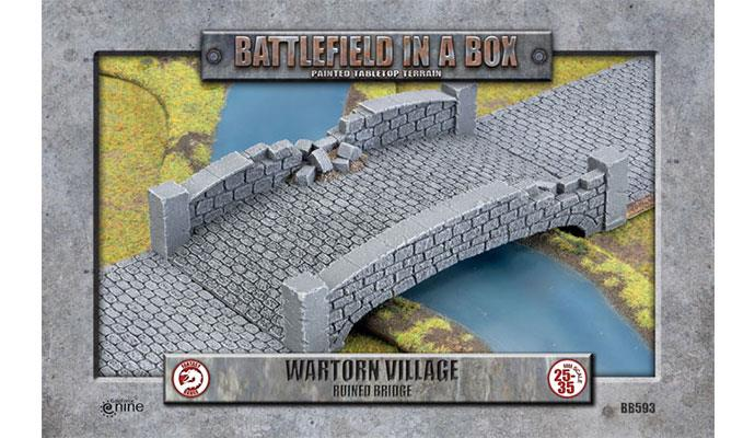 Wartorn Village Bridge (28mm)