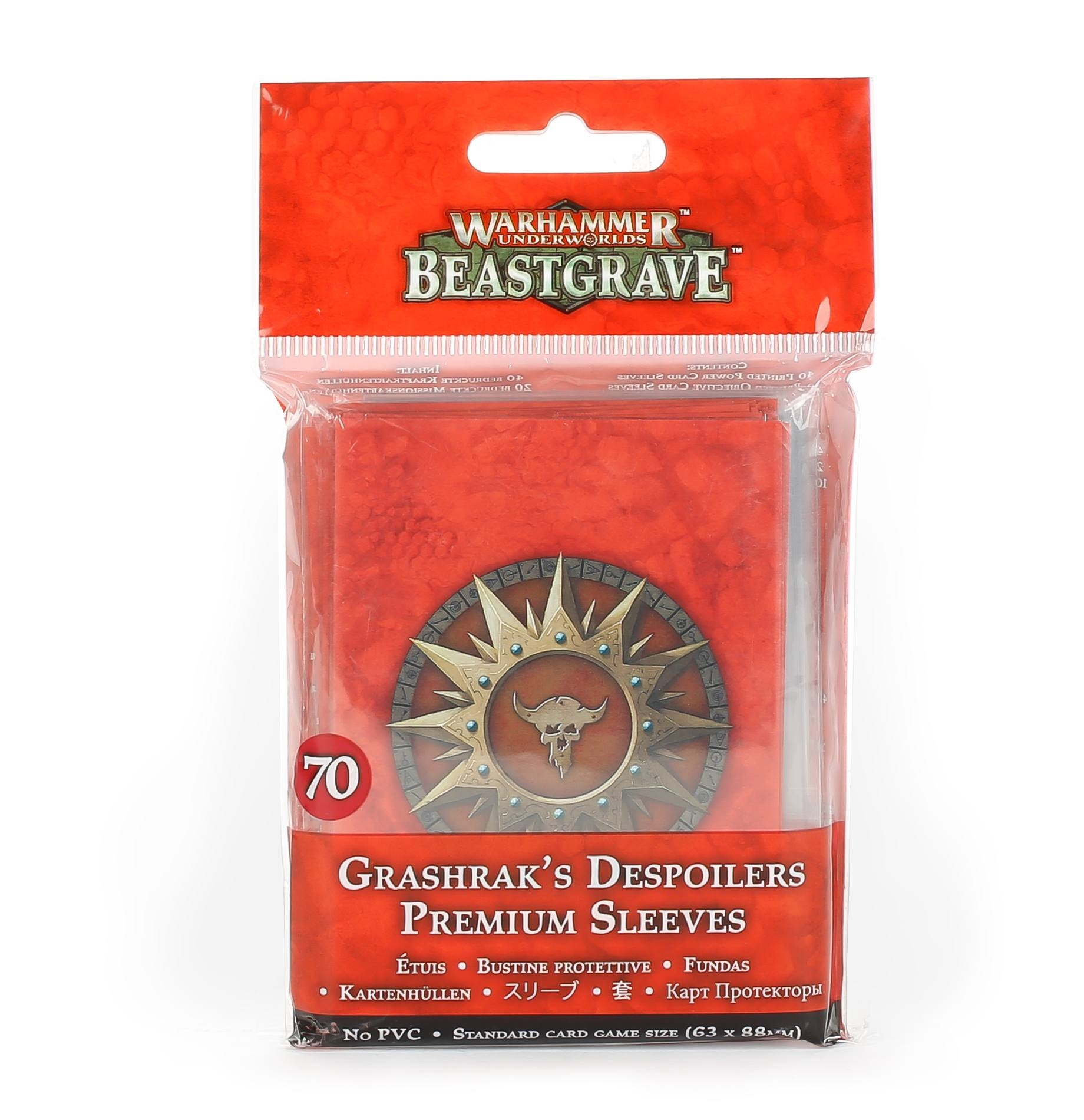 Grashraks Despoilers Sleeves Pack