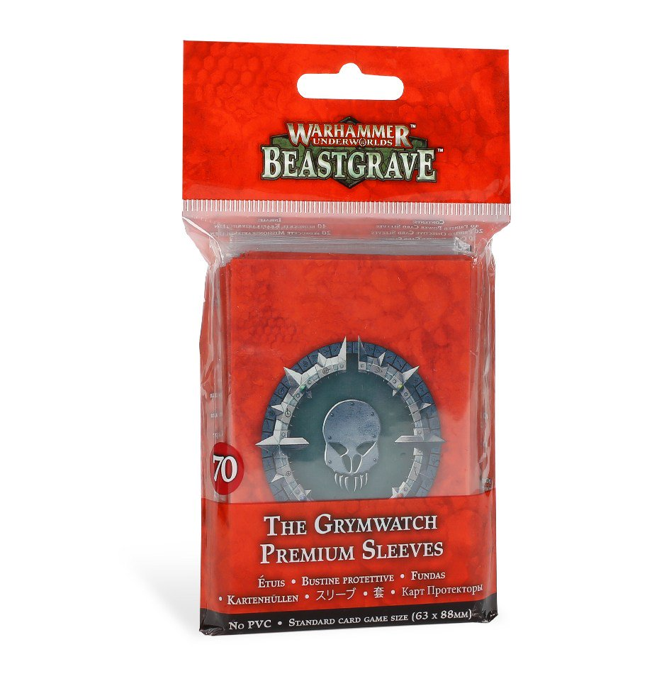 The Grymwatch Sleeves