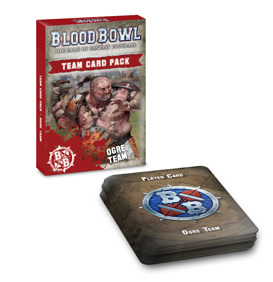 Blood Bowl Ogre Team Card Pack