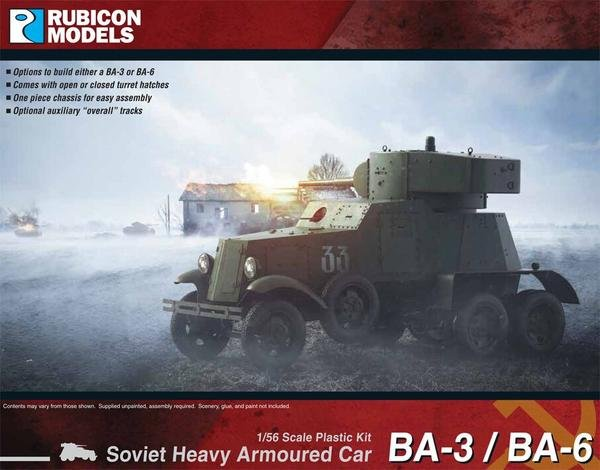 BA-3 / BA-6 Soviet Heavy Armoured Car