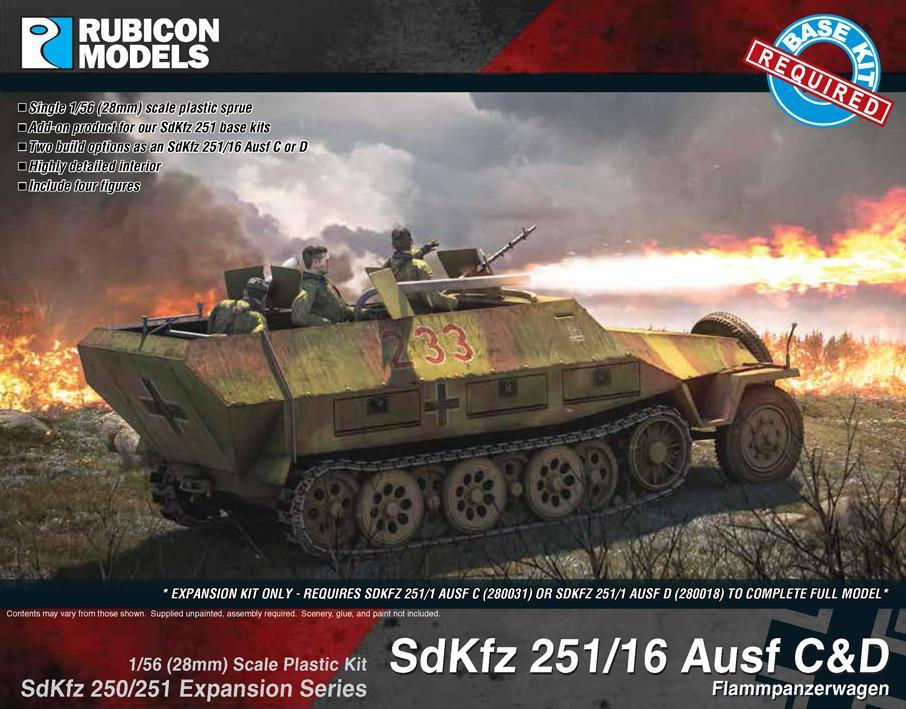 SdKfz 251/16 Ausf C/D Expansion Set