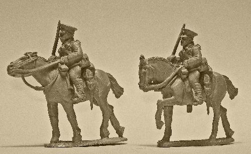 British Cavalry with Swords