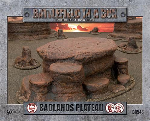 Badlands Plateau - Mars