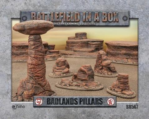 Badlands Pillars - Mars