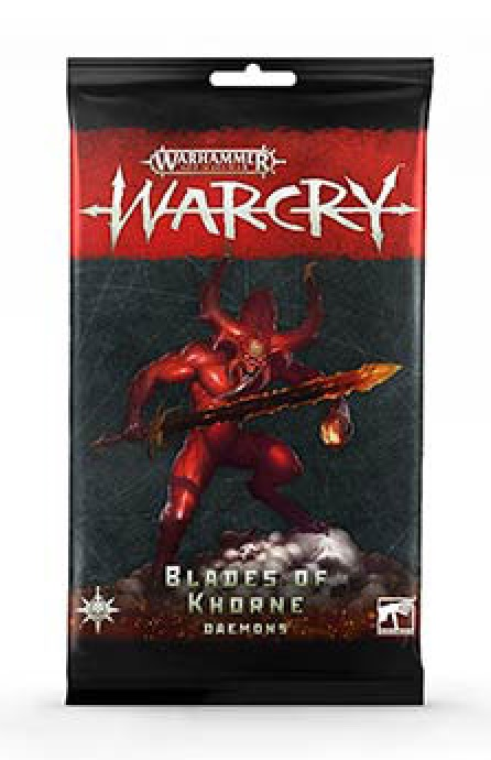 Warcry Cards: Daemons of Khorne