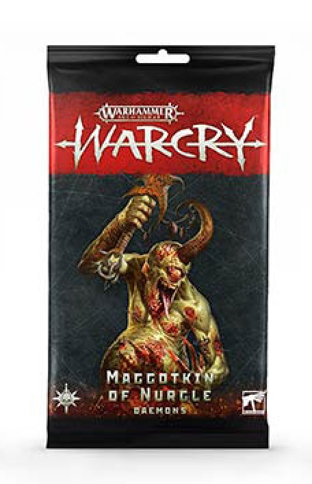 Warcry Cards: Nurgle Daemons
