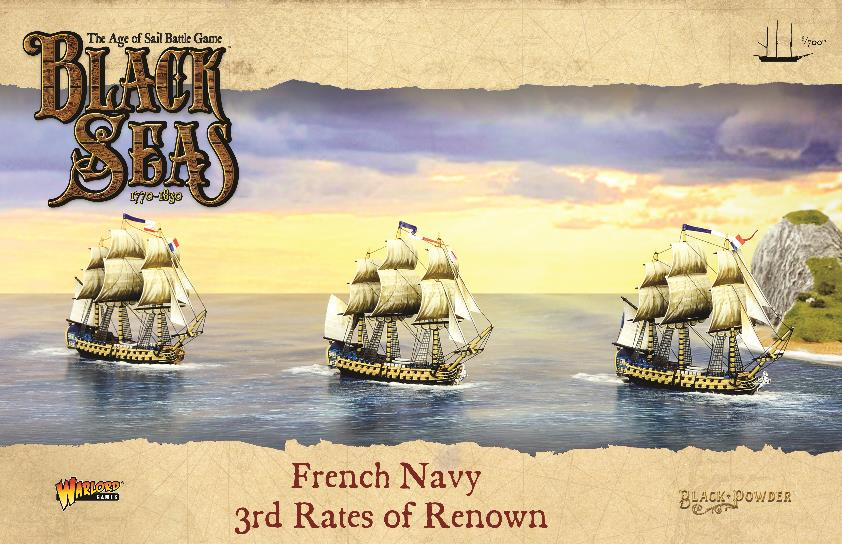 French Navy: 3rd Rates of Renown
