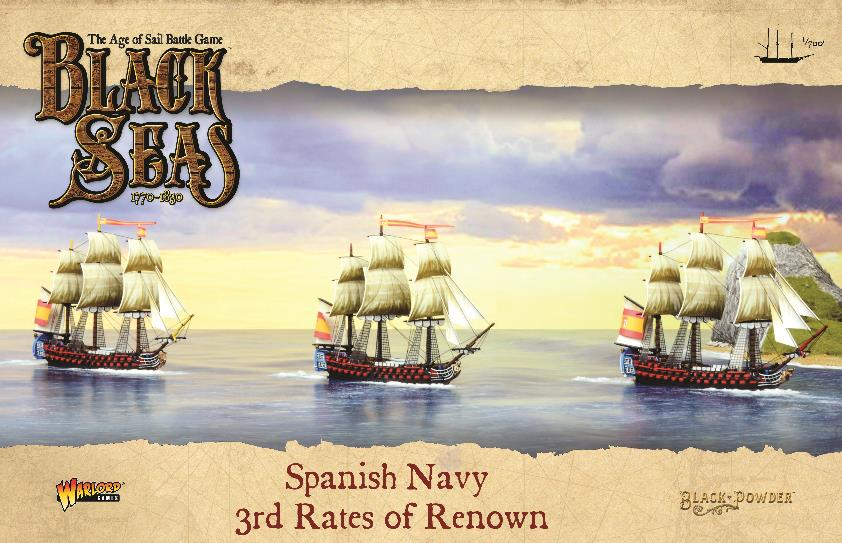 Spanish Navy: 3rd Rates of Renown