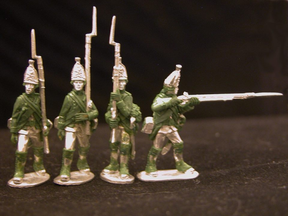 Hessian Grenadier Marching
