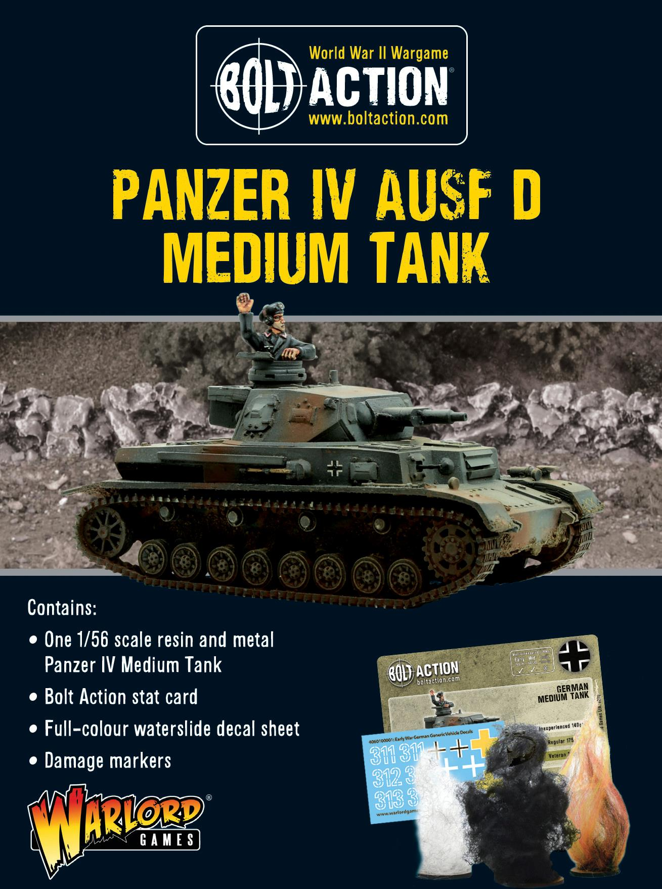 Panzer IV Ausf D - 25% Off Black Friday
