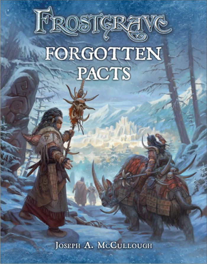 Forgotten Pacts - Frostgrave Supplement.