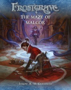 The Maze of Malcor - Frostgrave Supplement.