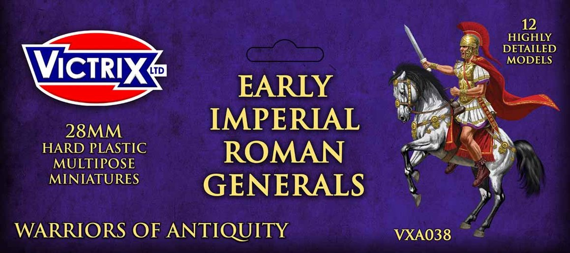 Early Imperial Roman Mounted Generals