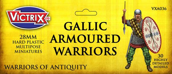 Gallic Armoured Warriors